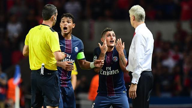 Giroud méritait d'être expulsé, pas Verratti