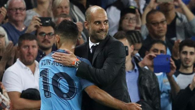 Aguero benched for Manchester City's clash with Barcelona