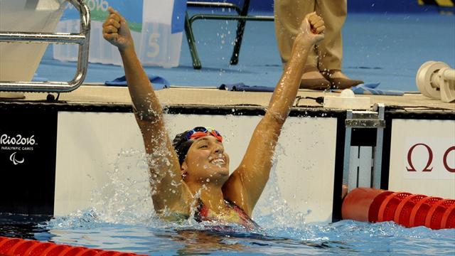 Cinco nuevas medallas para España en natación en los Juegos Paralímpicos de Río