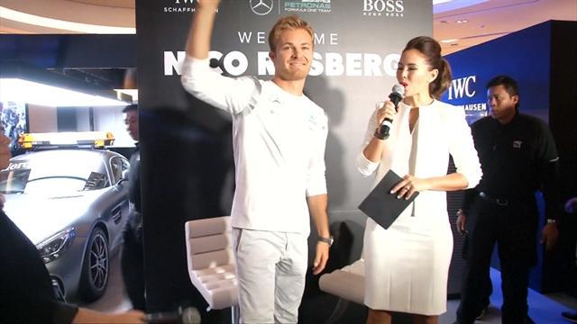 """Rosberg: """"Sarà una gara molto complicata"""""""