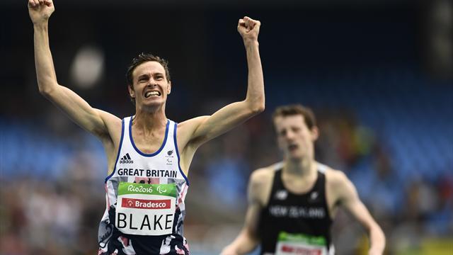 Blake secures 50th British gold at Paralympics