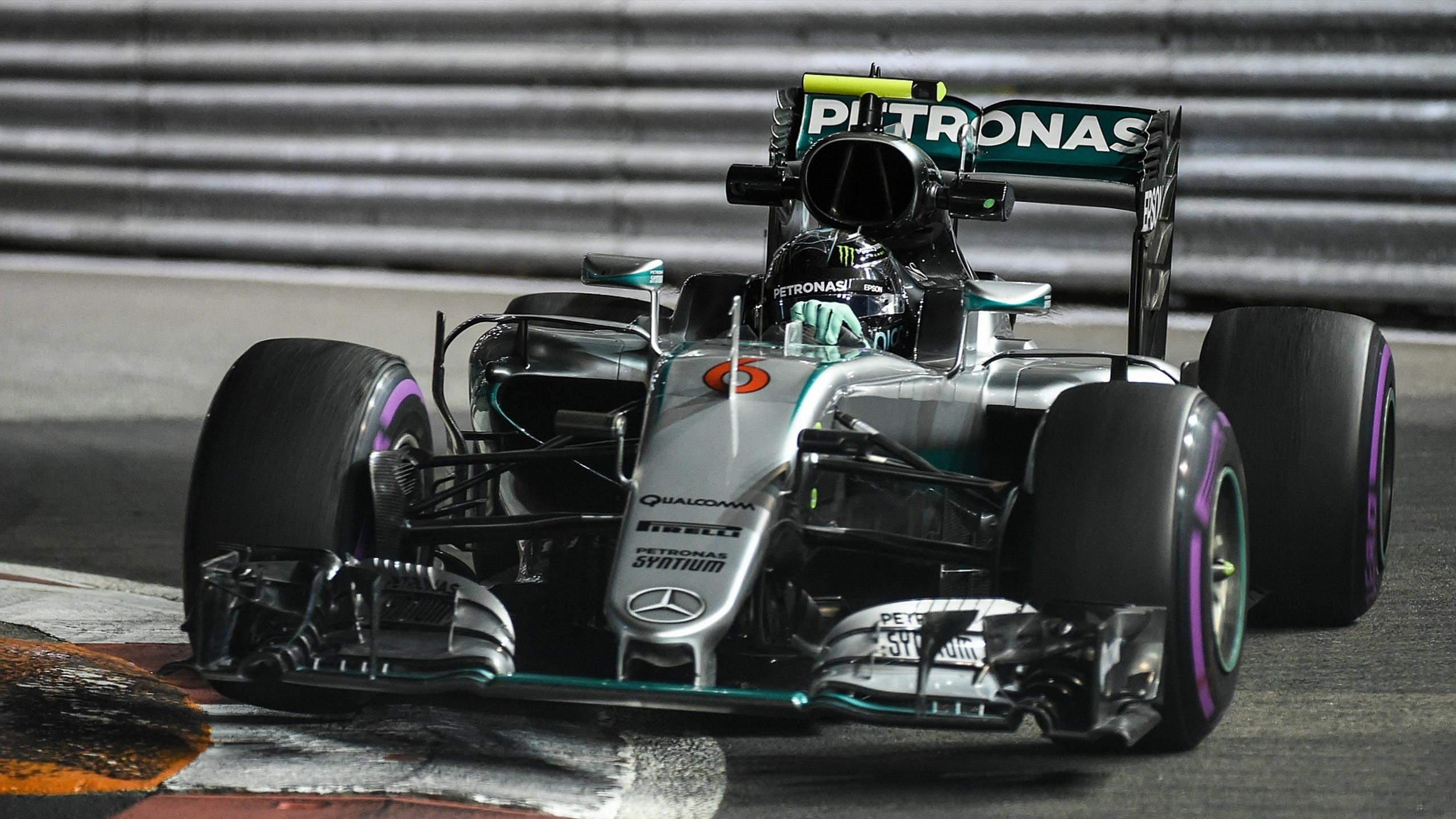 Nico Rosberg (Mercedes) au Grand Prix de Singapour 2016