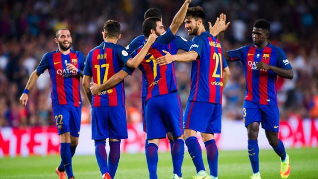 «Барселона» получила половину желтых карточек за споры с арбитрами