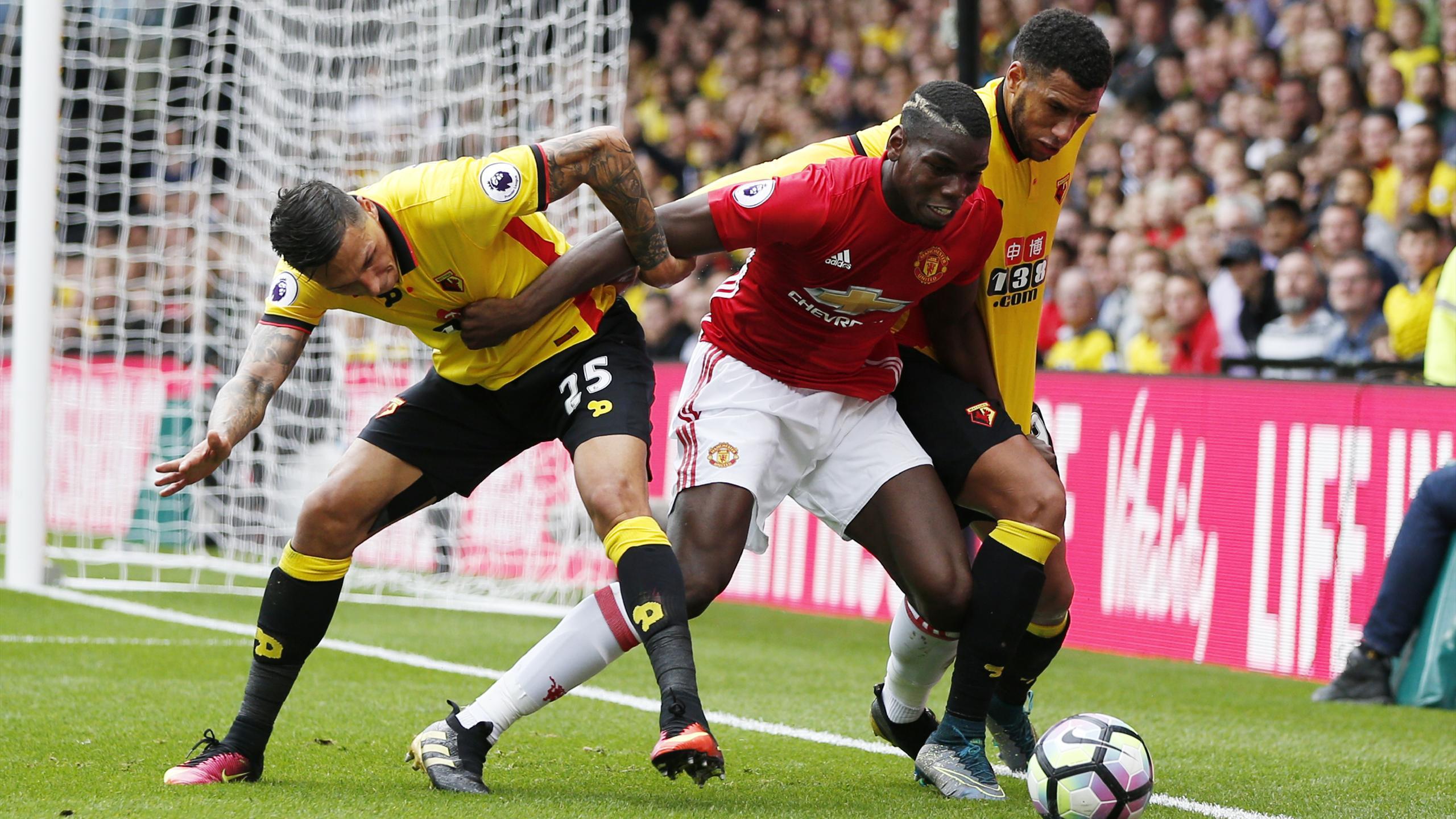 Paul Pogba contre Watford