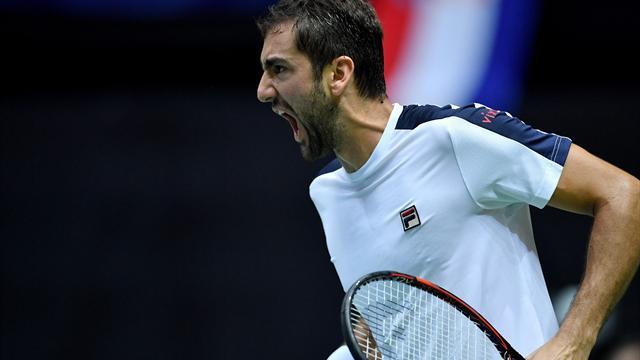Чилич обыграл Нишикори вфинале турнира ATP вБазеле