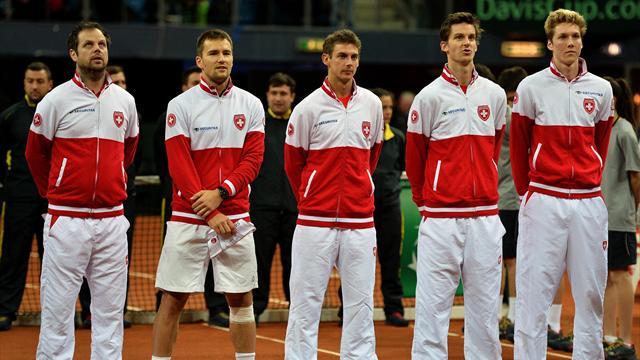 Tennis : Comme l'Australie, la Belgique et le Japon, la Suisse se maintient dans le groupe mondial
