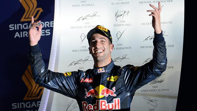 Daniel Ricciardo S Tyres Ran Out Of Steam In Chase