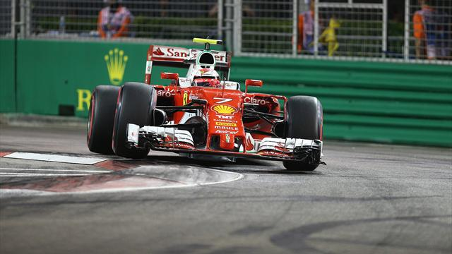 F1, Singapore 2/e libere: Rosberg leader, 2° Raikkonen e 5° Vettel