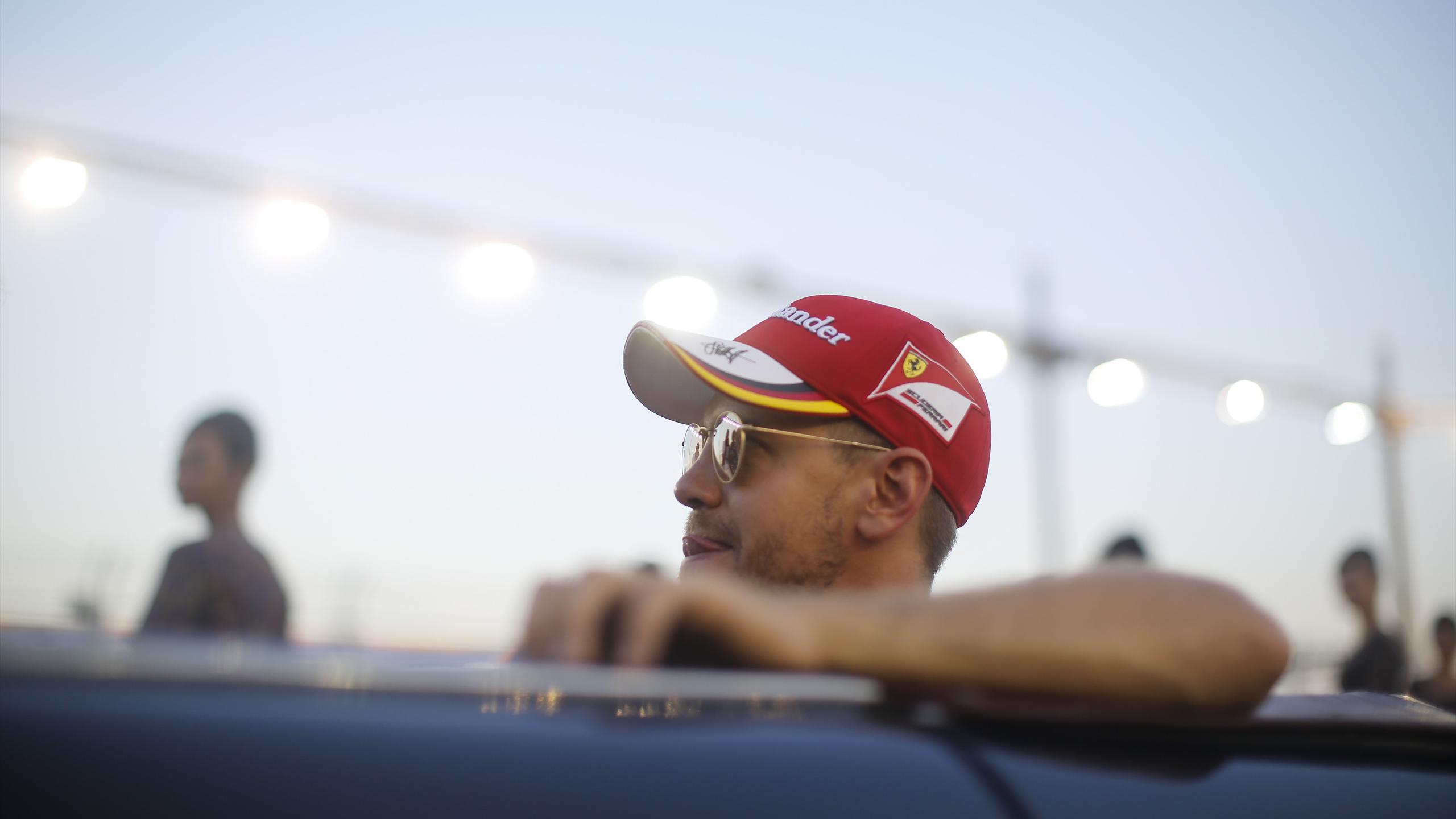 Sebastian Vettel (Ferrari) au Grand Prix de Singapour 2016