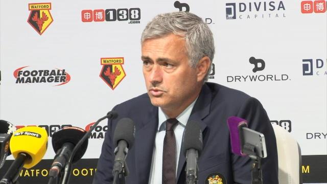 Mourinho : «On ne méritait pas de perdre»