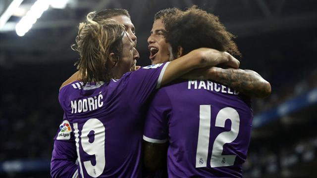 Première victoire pour le Real Madrid — Sanction FIFA
