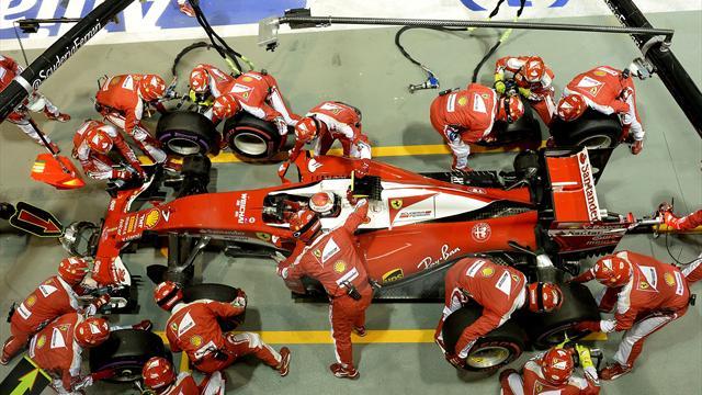 Les employés de Ferrari pas à la fête pendant les fêtes...