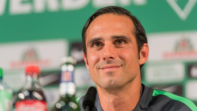 """Erster Auftritt als Profi-Coach: Nouri startet bei Werder mit """"voller Energie"""""""