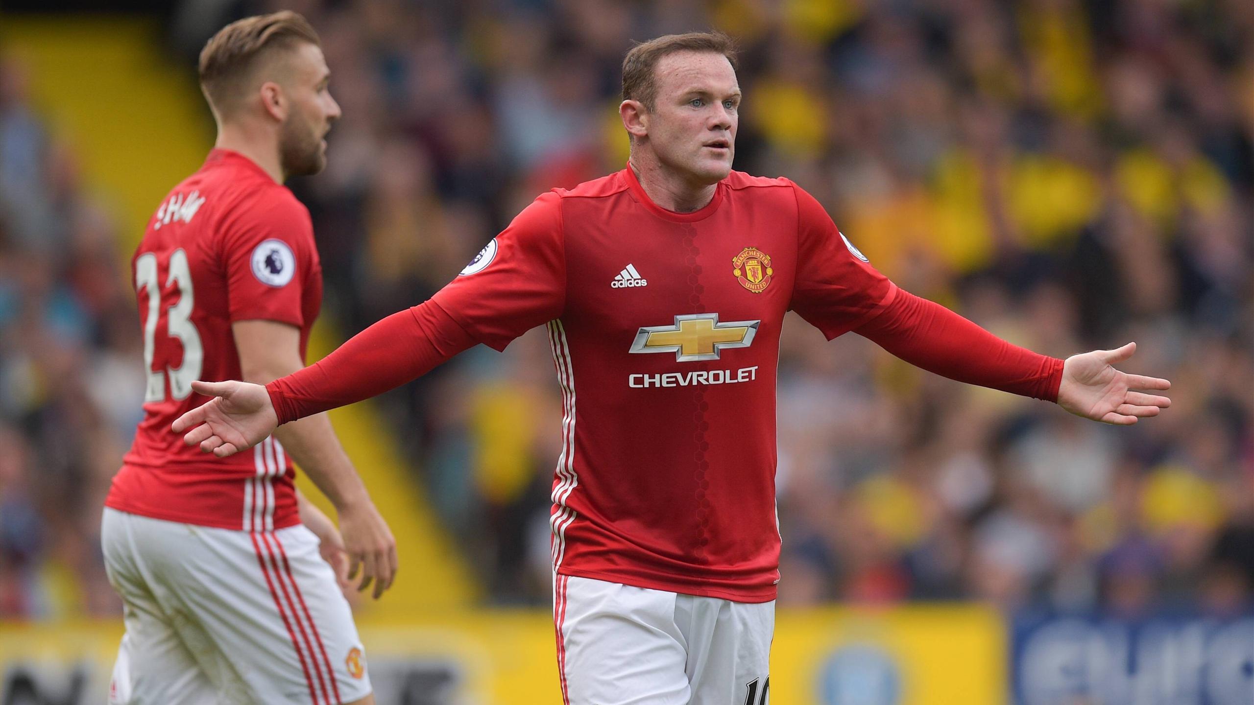 Wayne Rooney had a bad performance against Watford