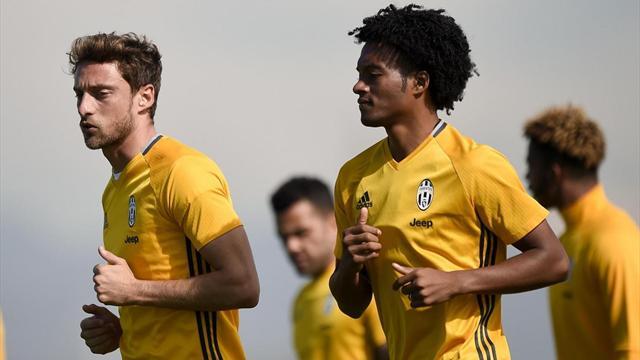 Juventus, buone notizie per Allegri: si rivede Marchisio in allenamento