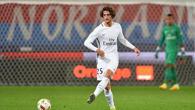 Emery : «Rabiot a un grand futur avec le PSG et l'équipe de France»