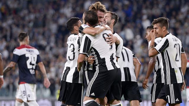 «Ювентус» и«Рома» одержали большие победы вчемпионате Италии