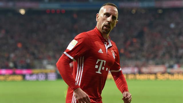 Lancé par un excellent Ribéry, le Bayern enchaîne et reprend la tête