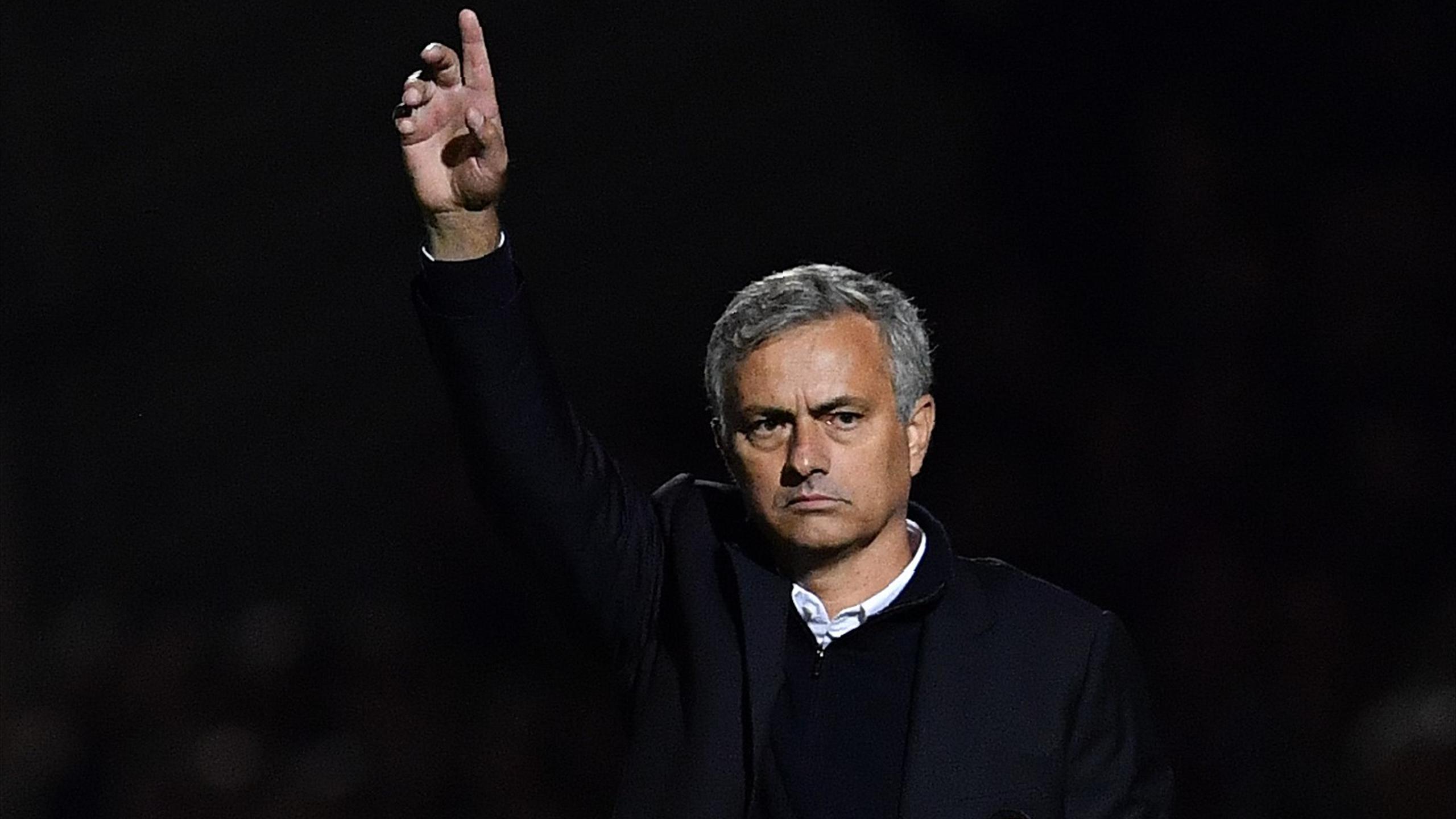 Жозе Моуринью, главный тренер «Манчестер Юнайтед»