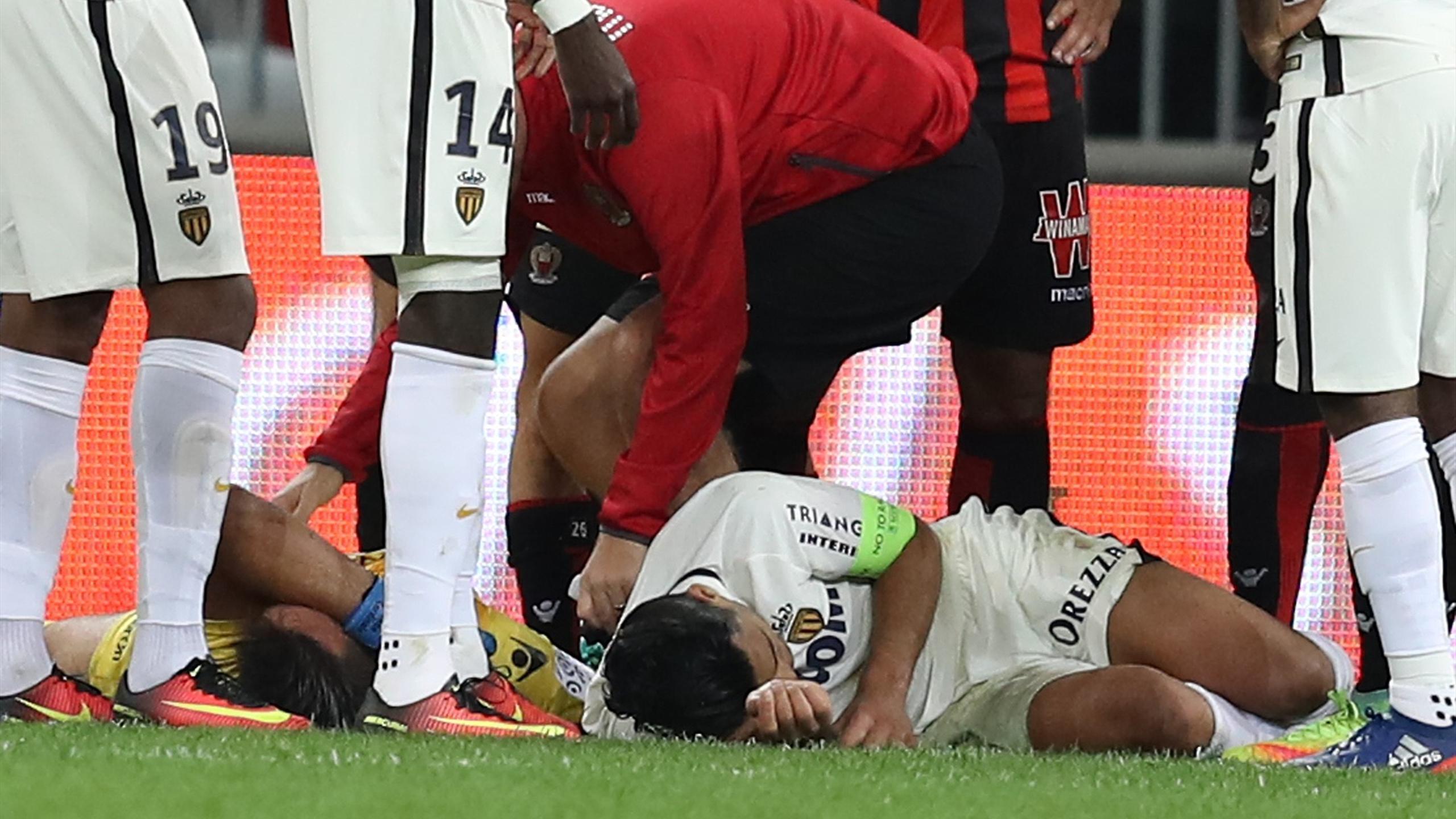 Falcao, blessé à Nice