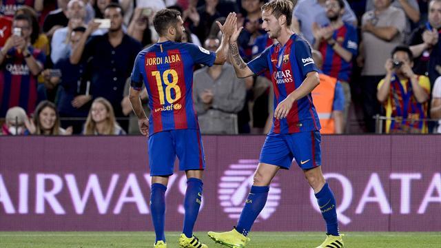 В1/16 финала Кубка Испании «Барселона» одолела «Эркулес» ивышла в1