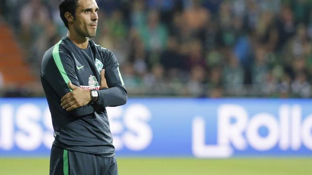 """Werder: Interimstrainer Nouri """"sehr wahrscheinlich"""" auch gegen Wolfsburg auf der Bank"""
