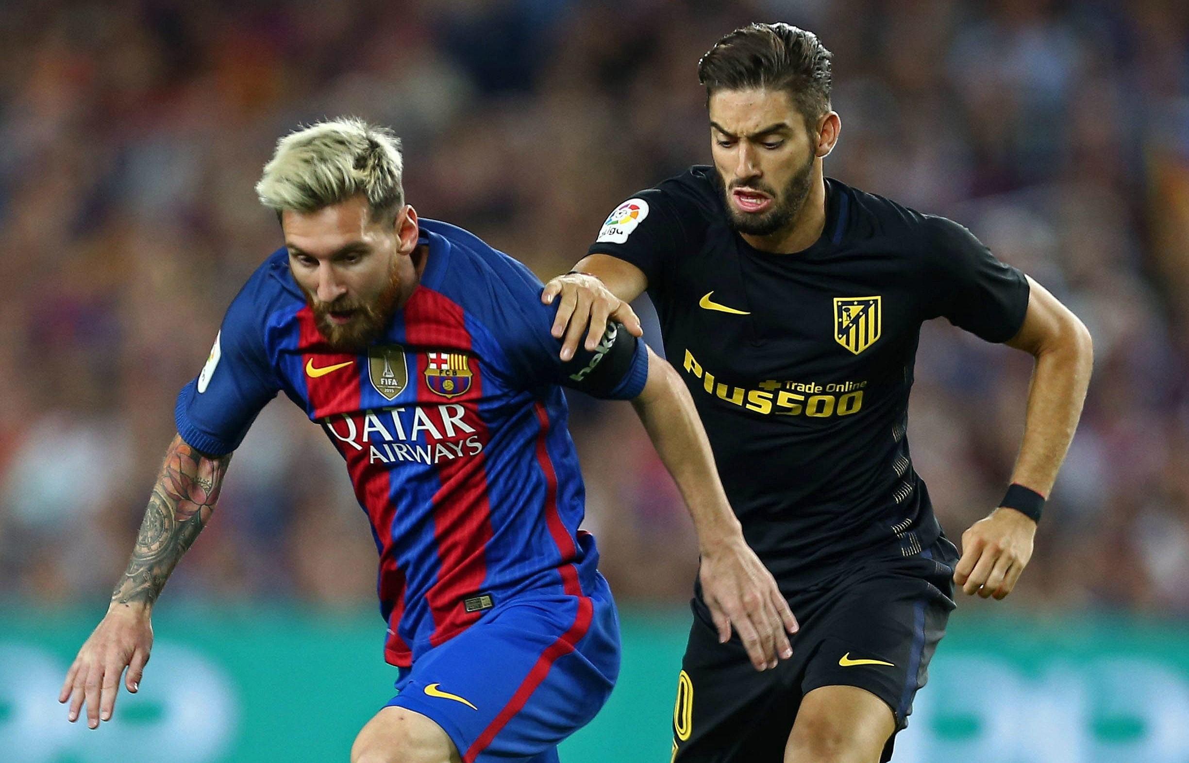 Месси и Карраско, «Барселона» – «Атлетико»