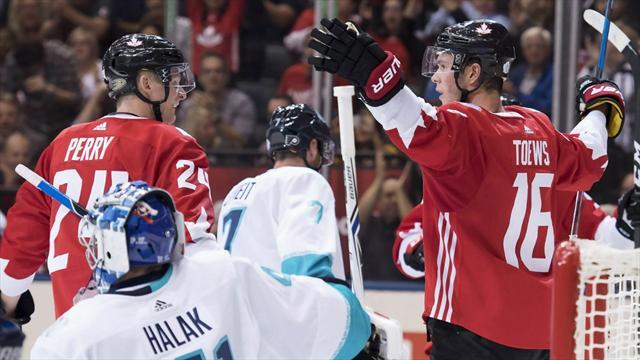 Канада обыграла сборную Европы и вышла в полуфинал Кубка мира с первого места
