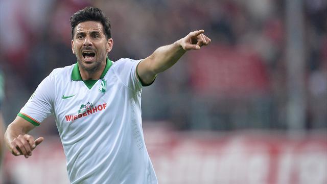 Baumann: Pizarro vor November zurück im Werder-Trikot