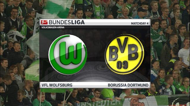 Highlights: Dortmund hit five in Wolfsburg demolition