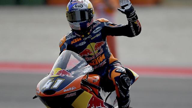 Moto3: Binder kann am Sonntag Weltmeister werden