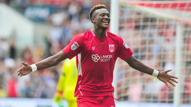 Goal-machine Tammy Abraham snatches cup win for Bristol City