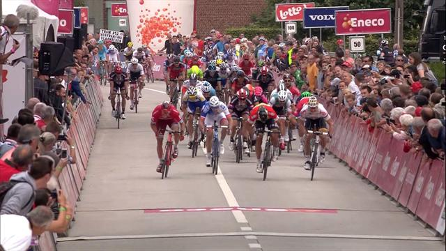 Sagan assumes overall lead in Eneco Tour after photo finish