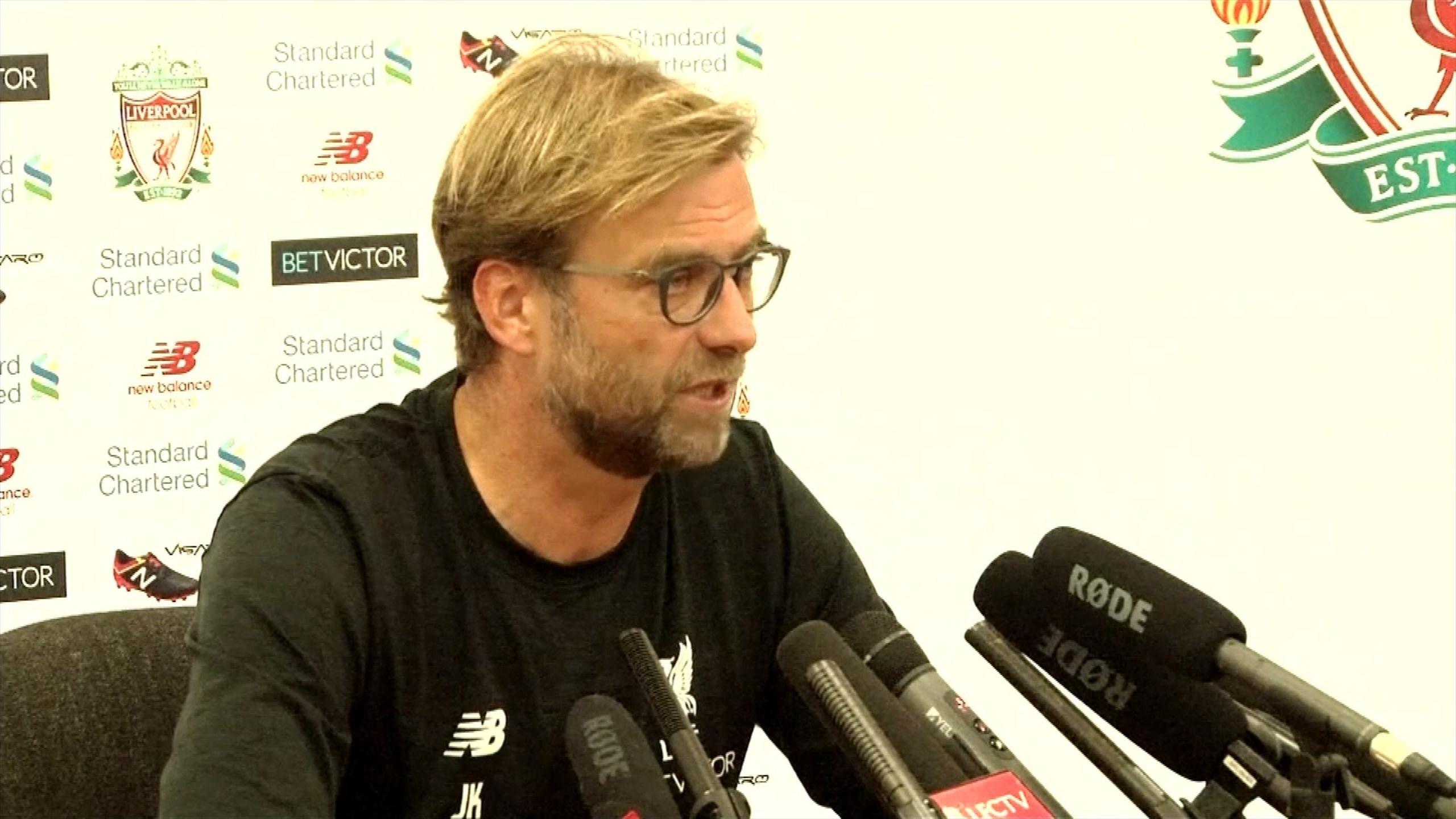 Jurgen Klopp on Liverpool v Hull