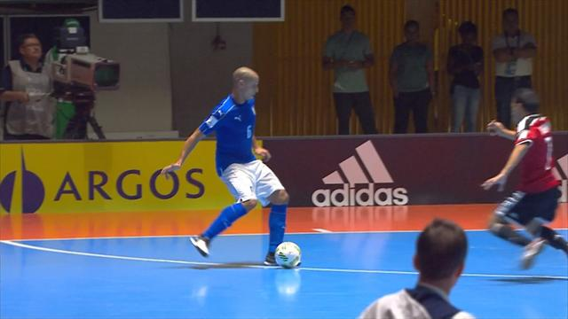 Futsal World Cup: Egypt oust Italy in extra time