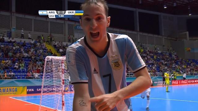 Futsal World Cup: Argentina sneak past Ukraine