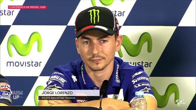 Lorenzo n'a pas changé d'avis sur le dépassement musclé de Rossi à Misano