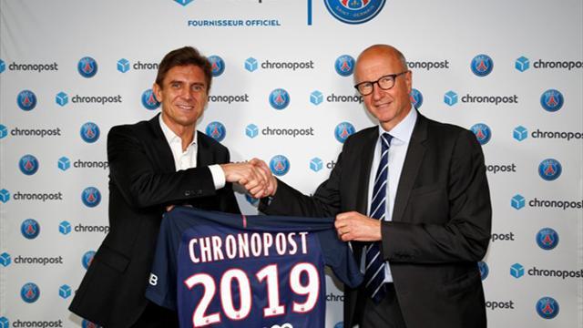 Le PSG emballe un nouveau partenariat avec Chronopost