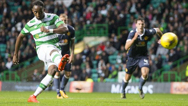 Moussa Dembele is not scared of being put on the spot against Kilmarnock
