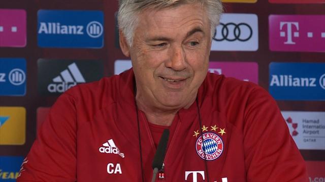 Nach Wiesn-Besuch: Ancelotti ohne Kopfschmerzen