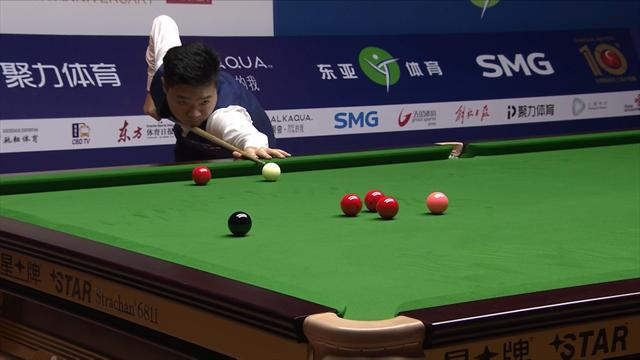 Ding thrills Chinese fans with 103 break