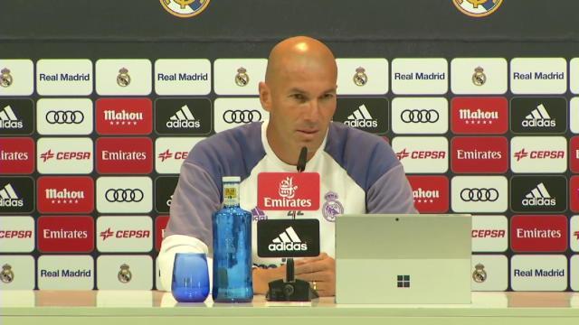 Zidane : ''On attend beaucoup de la BBC''