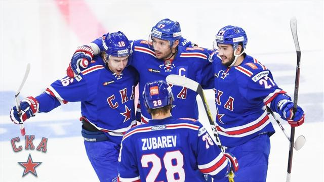 СКА вышел в полуфинал Кубка Гагарина в пятый раз за 6 лет