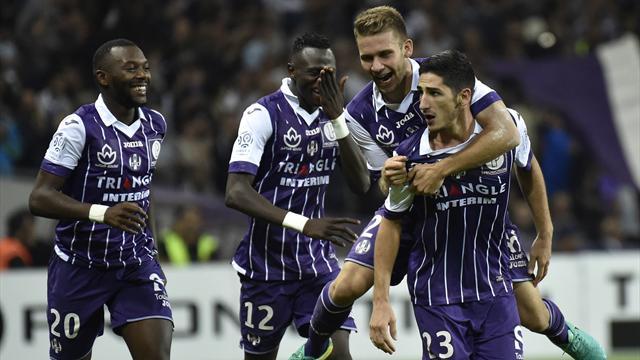 Toulouse fait tomber le PSG et continue de voir la vie en rose