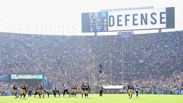 Retour gagnant des Rams à Los Angeles après 21 années d'absence