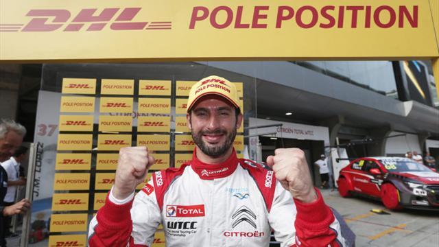 Great eight of China as López takes WTCC pole