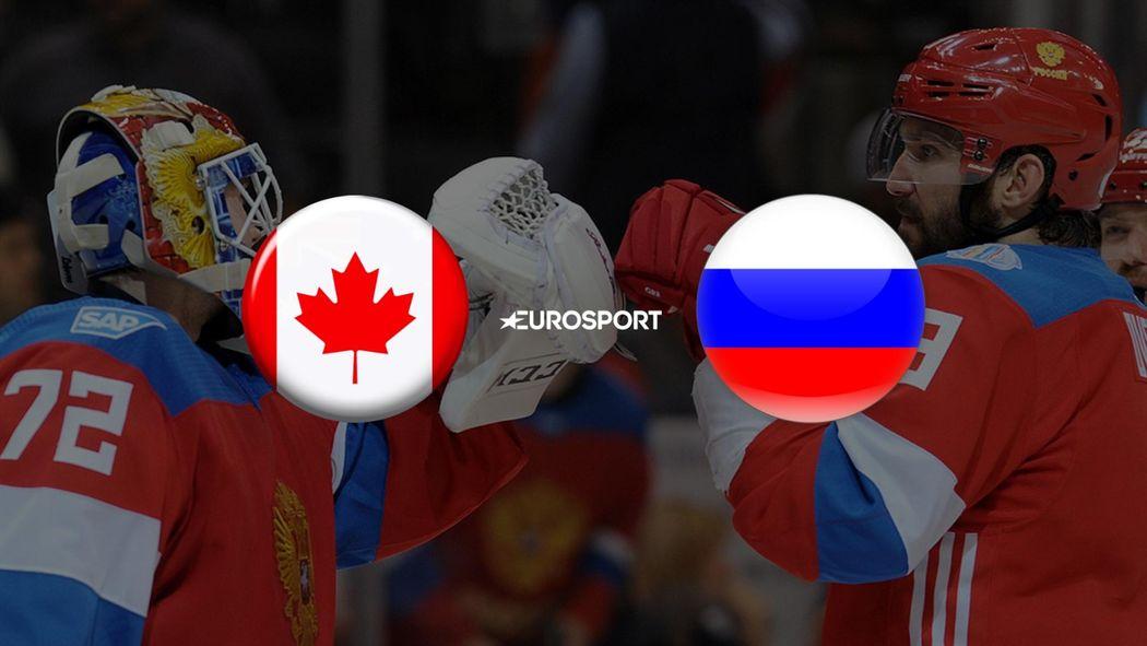 Россия Канада Кубок Мира 2017 Хоккей