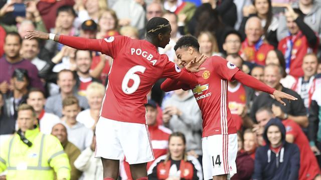 «Манчестер Юнайтед» разгромил действующего чемпиона Британии «Лестер Сити»
