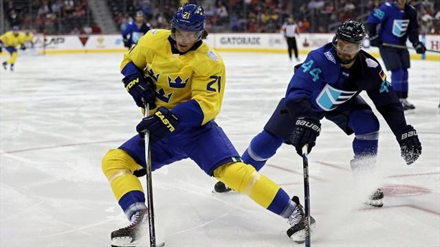 Европа переиграла Швецию в овертайме и вышла в финал на Канаду