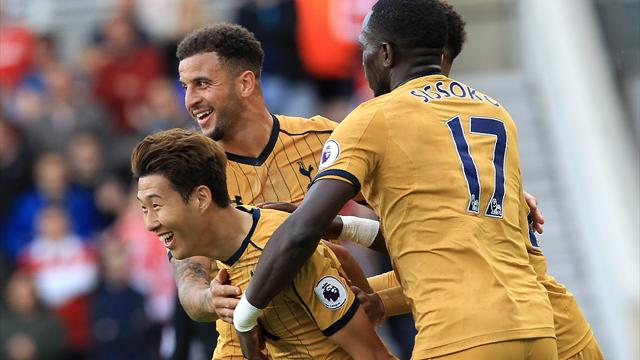 Sensational Son inspires Spurs to victory over Boro